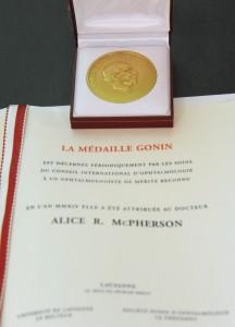 Gonin Medal and Diploma of Gonin Medal