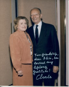 Dr. McPherson with Dr. Charles L. Schepens