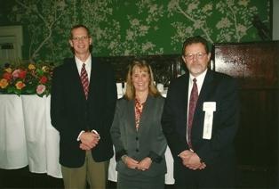 Drs. David Gamm, Nansi Colley, and Curtis Brandt