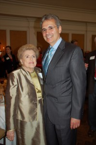 Dr. Alice McPherson and Dr. Ronald DePinho