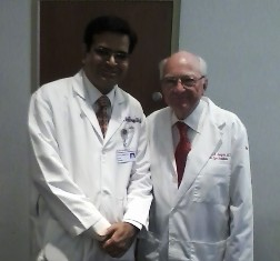 Dr. Richi with Dr. Ed Jaeger