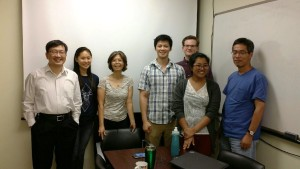 Dr. Jason Chen (far left) with his lab group