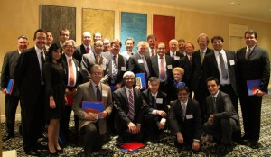 With a few of her eighty Vitreoretinal Fellows, Chicago Academy, October 2012