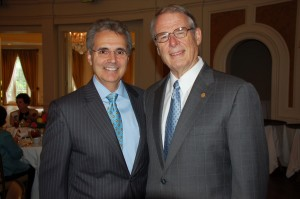 Dr. Ronald DePinho and Dr. Frank Eggleston